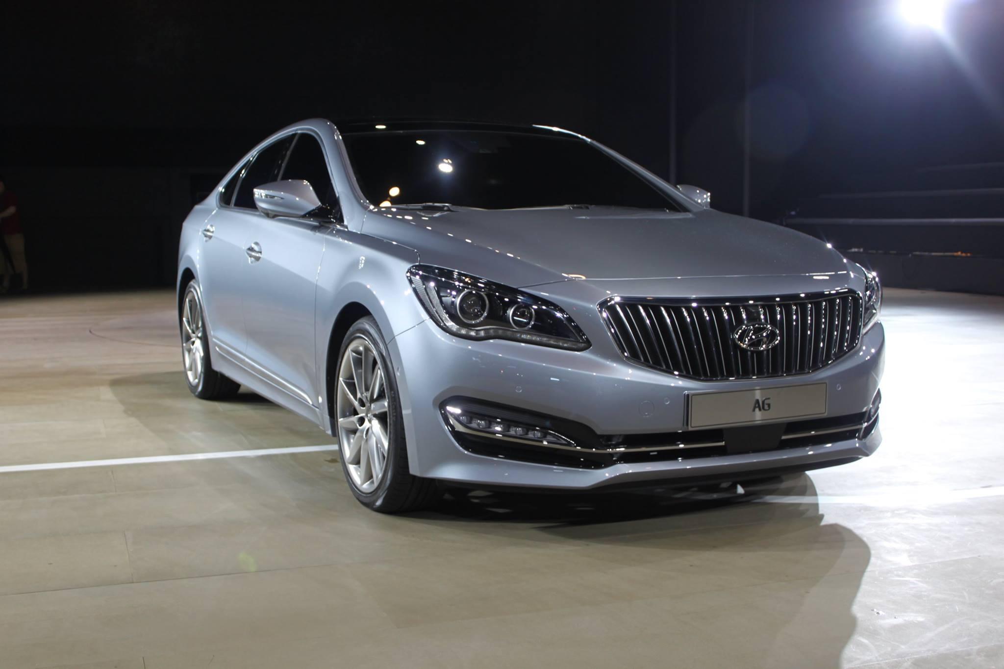 Hyundai Aslan 2014 - now Sedan #3