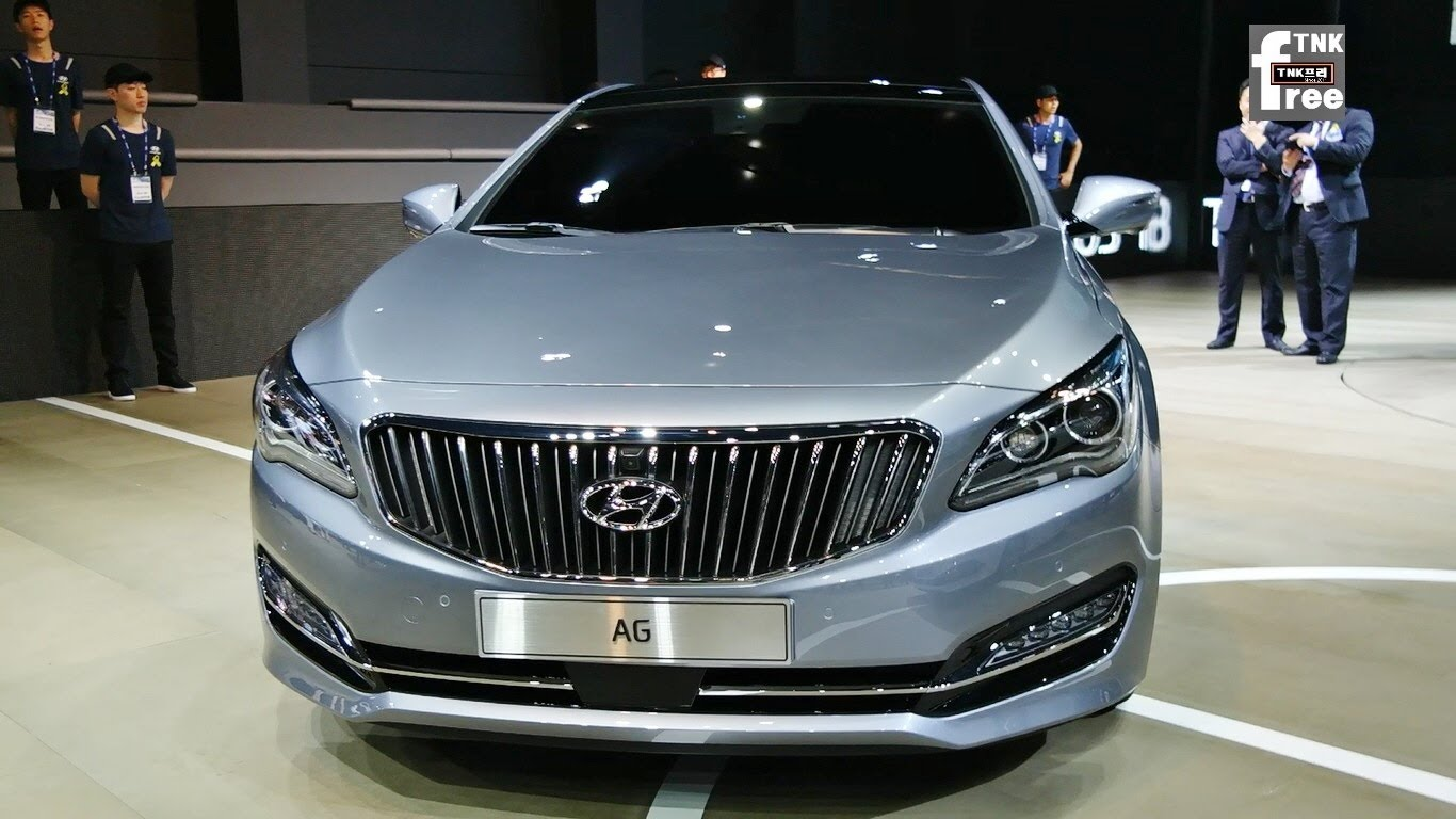 Hyundai Aslan 2014 - now Sedan #2