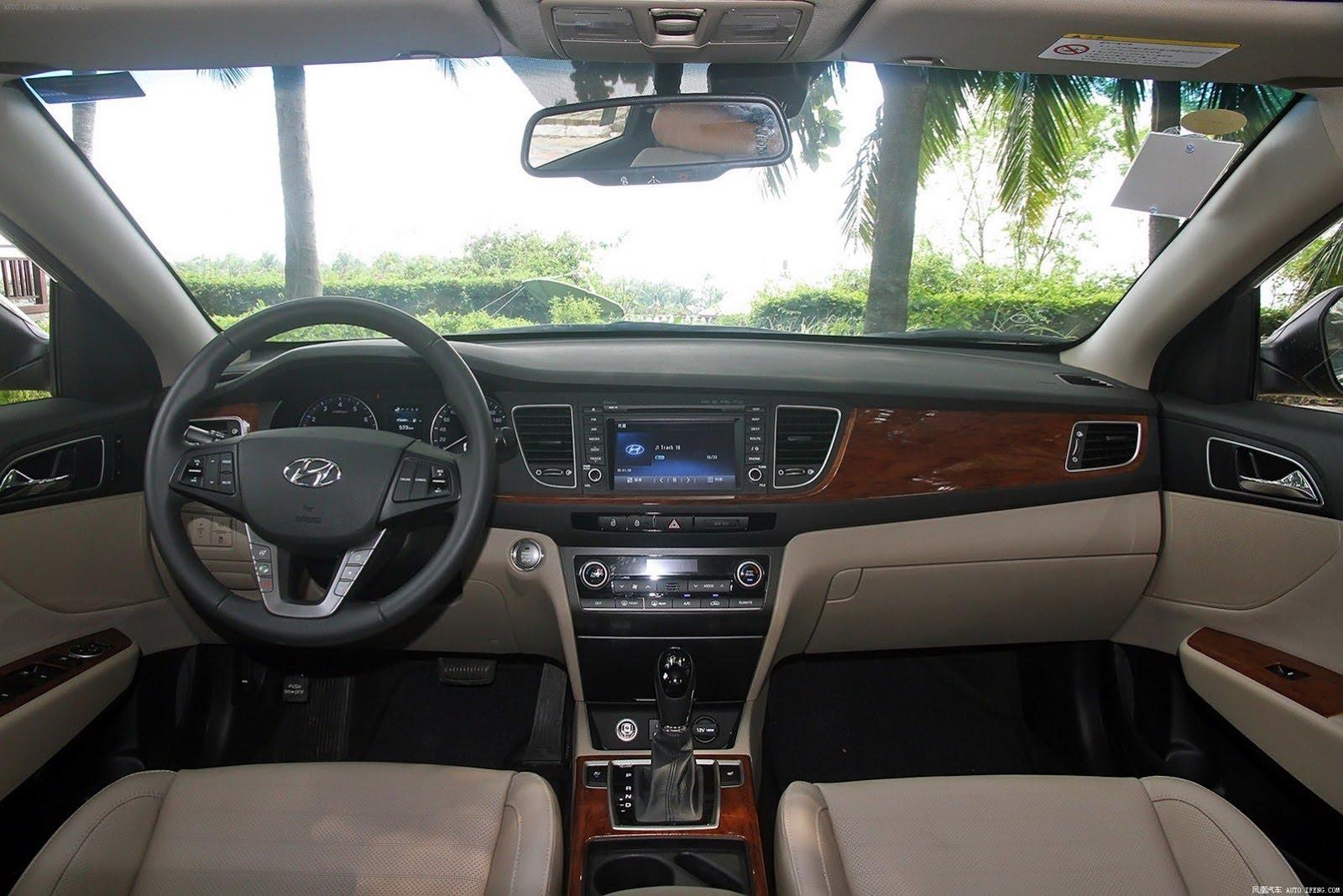 Hyundai Aslan 2014 - now Sedan #1