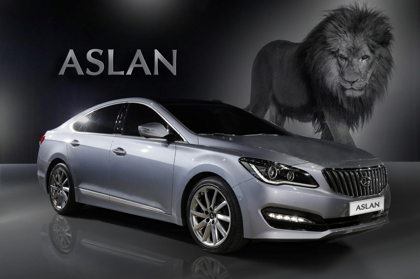 Hyundai Aslan 2014 - now Sedan #8