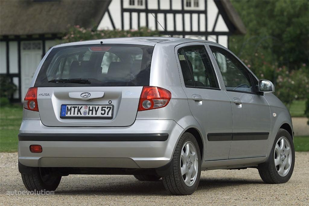 Hyundai Getz I 2002 - 2005 Hatchback 3 door #6