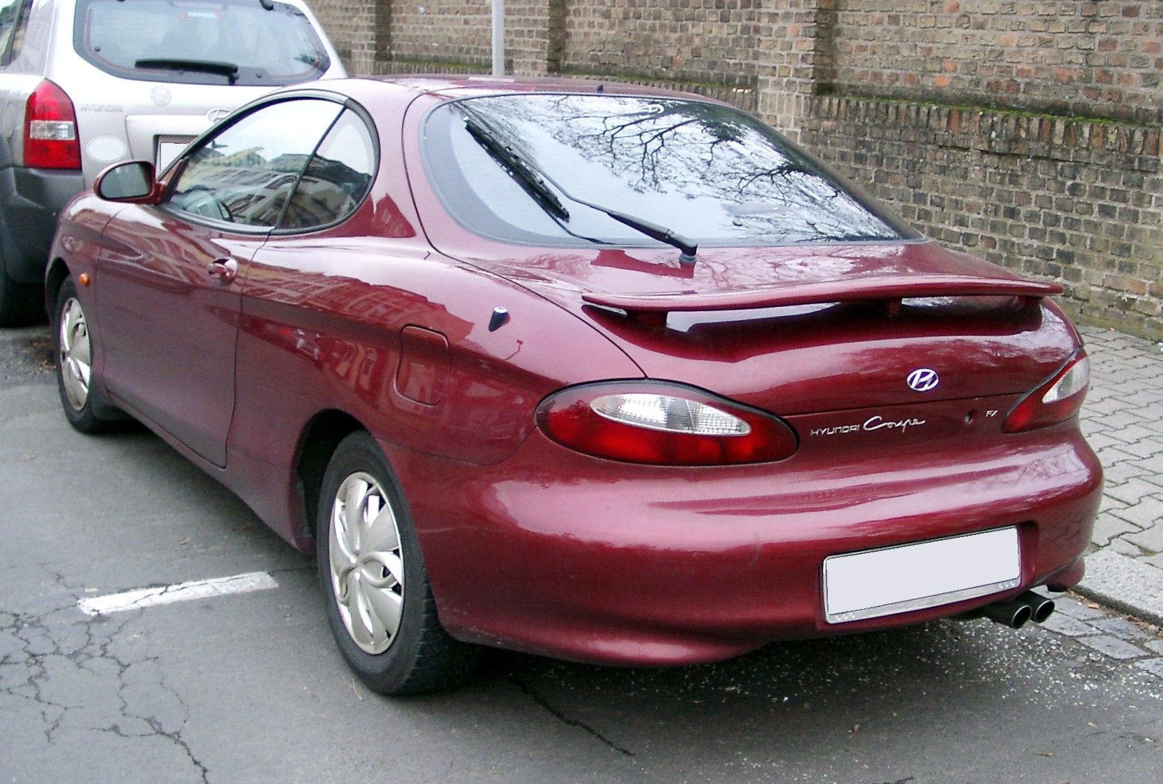 Hyundai Coupe I (RD) 1996 - 1999 Coupe #2