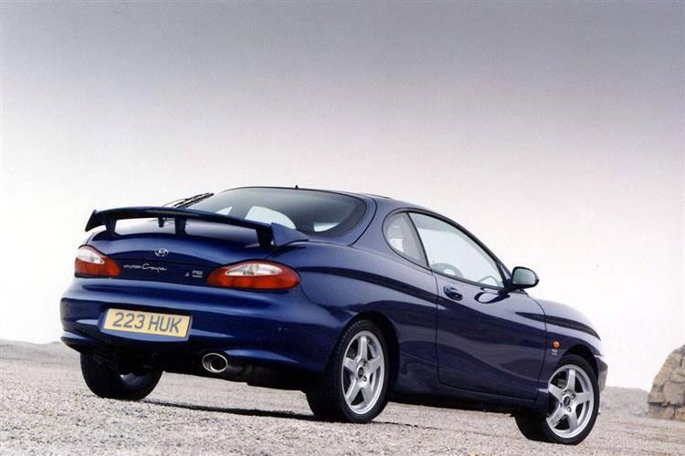 Hyundai Coupe I (RD) 1996 - 1999 Coupe #4