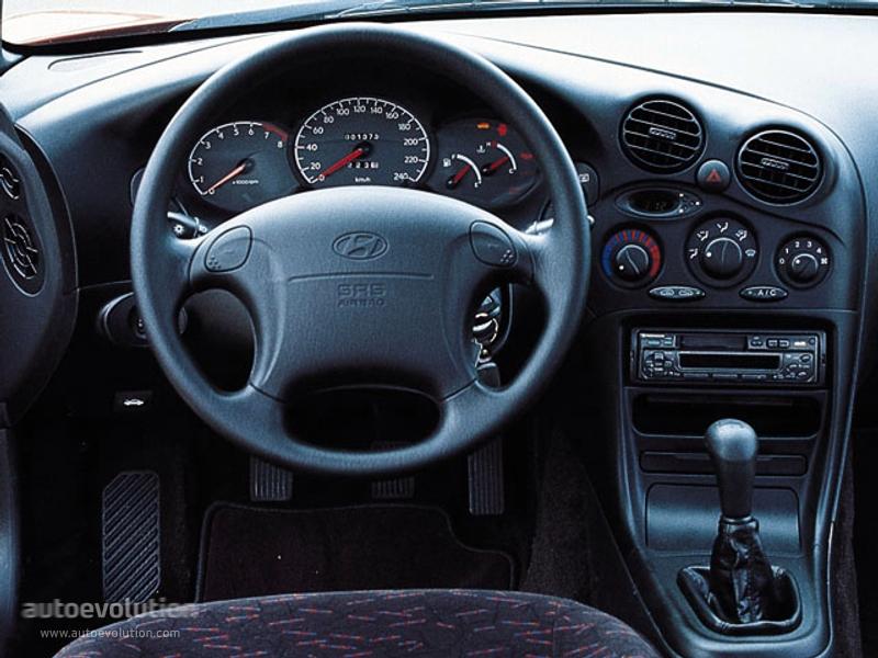 Hyundai Coupe I (RD) 1996 - 1999 Coupe #5
