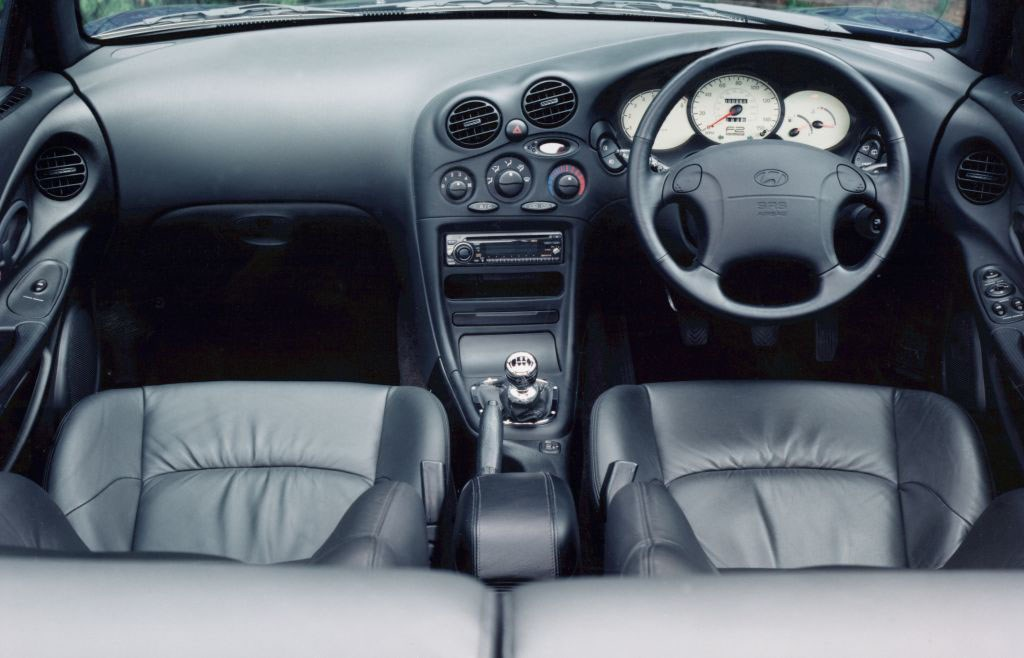 Hyundai Coupe I Restyling (RD2) 1999 - 2002 Coupe #3