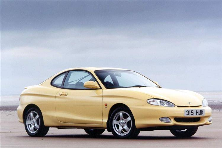 Hyundai Coupe I Restyling (RD2) 1999 - 2002 Coupe #4