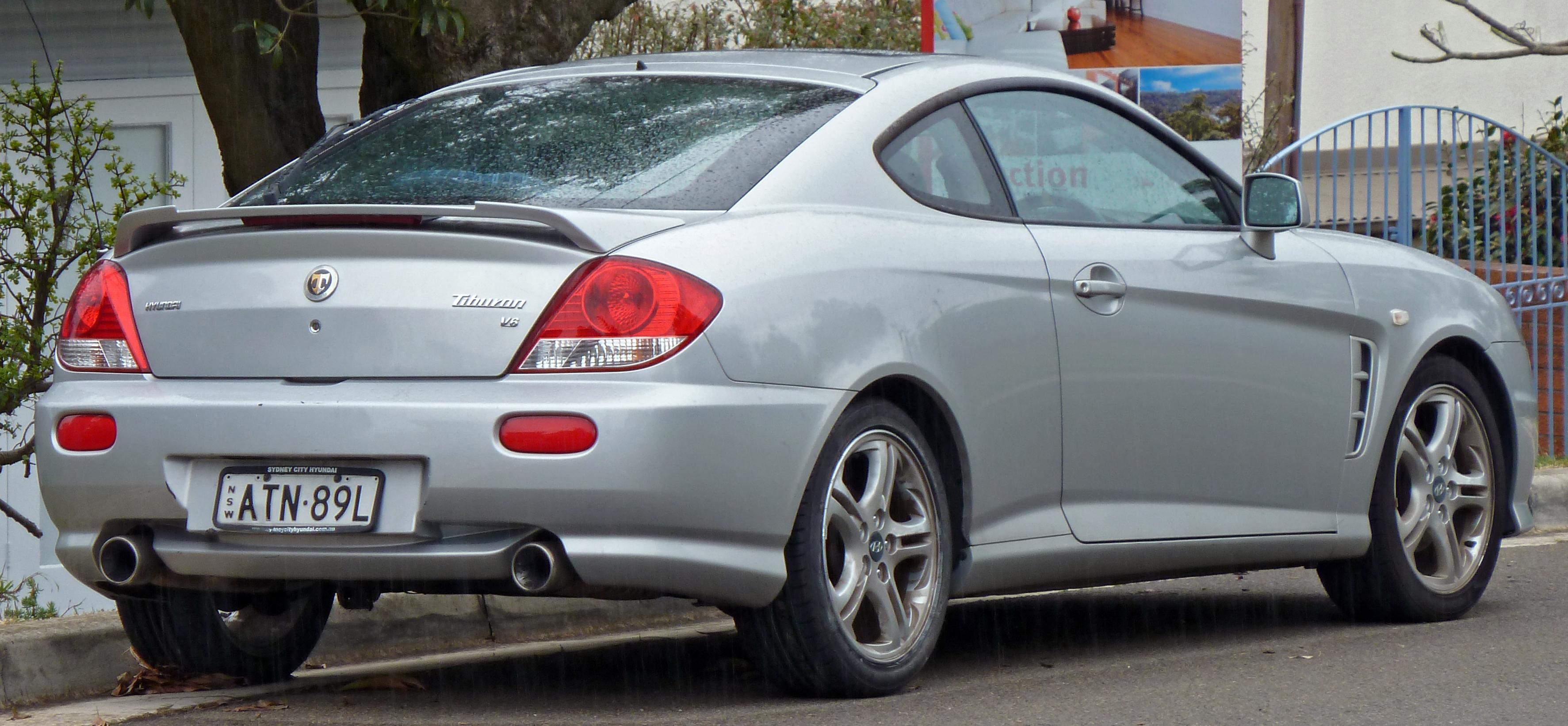Hyundai Tiburon II (GK) Restyling 2007 - 2009 Coupe #5