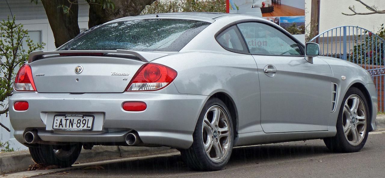 Hyundai Tiburon II (GK) Restyling 2007 - 2009 Coupe #6