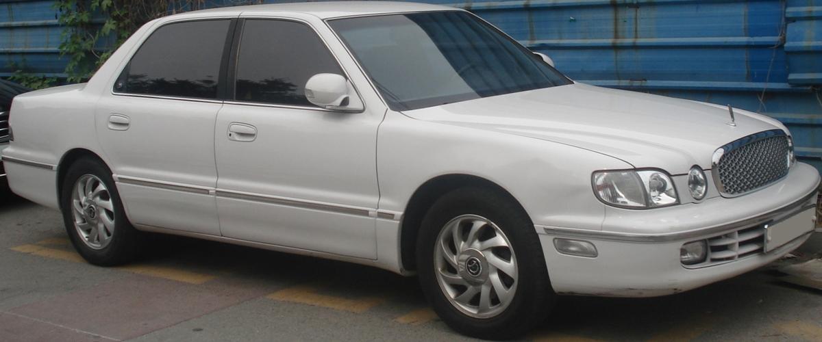 Hyundai Dynasty 1996 - 2005 Sedan #7