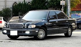Hyundai Dynasty 1996 - 2005 Sedan #8