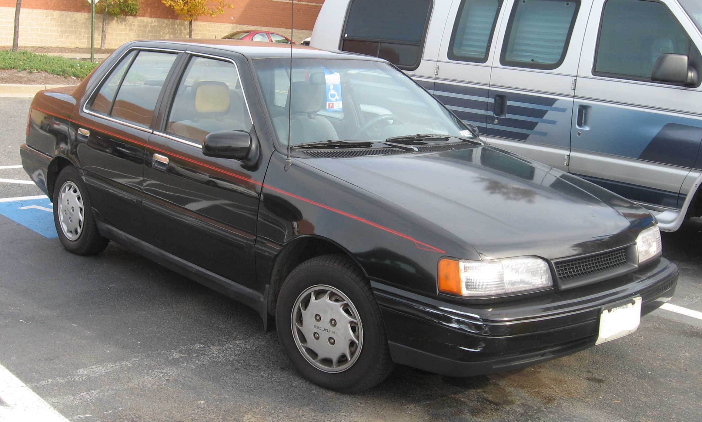 Hyundai Excel I 1985 - 1989 Sedan #3