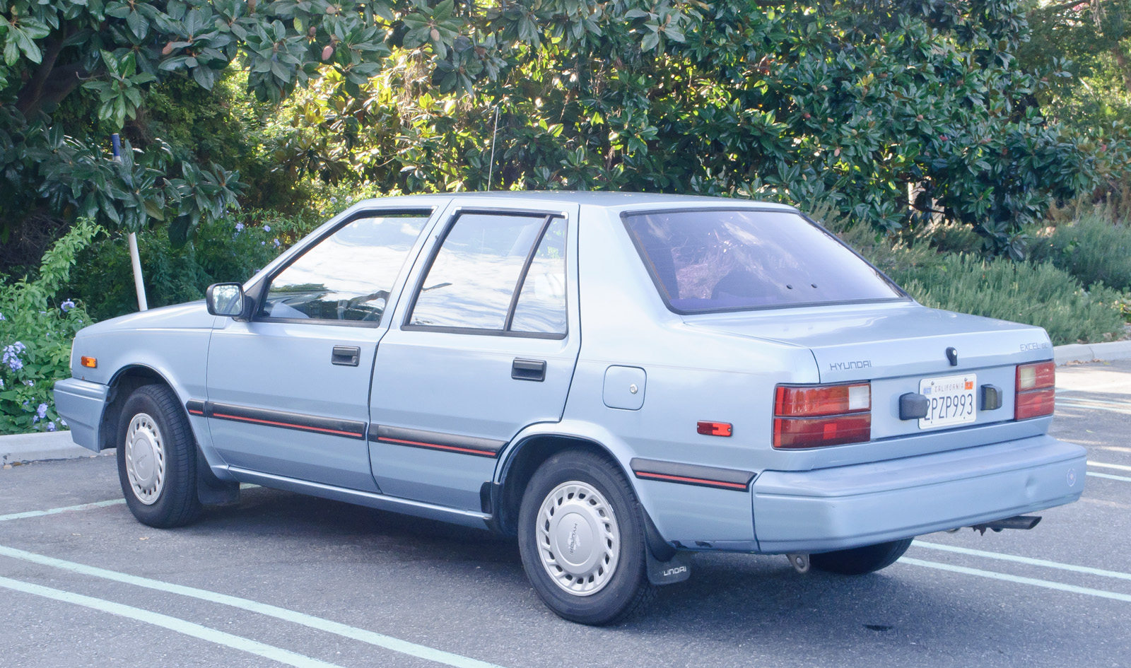 Hyundai Excel I 1985 - 1989 Sedan #4