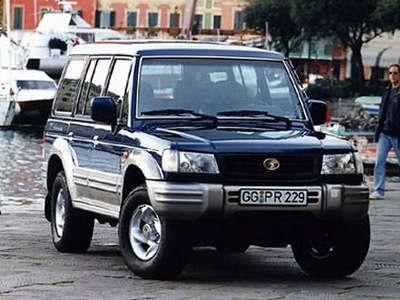 Hyundai Galloper 1991 - 2003 SUV 3 door #8