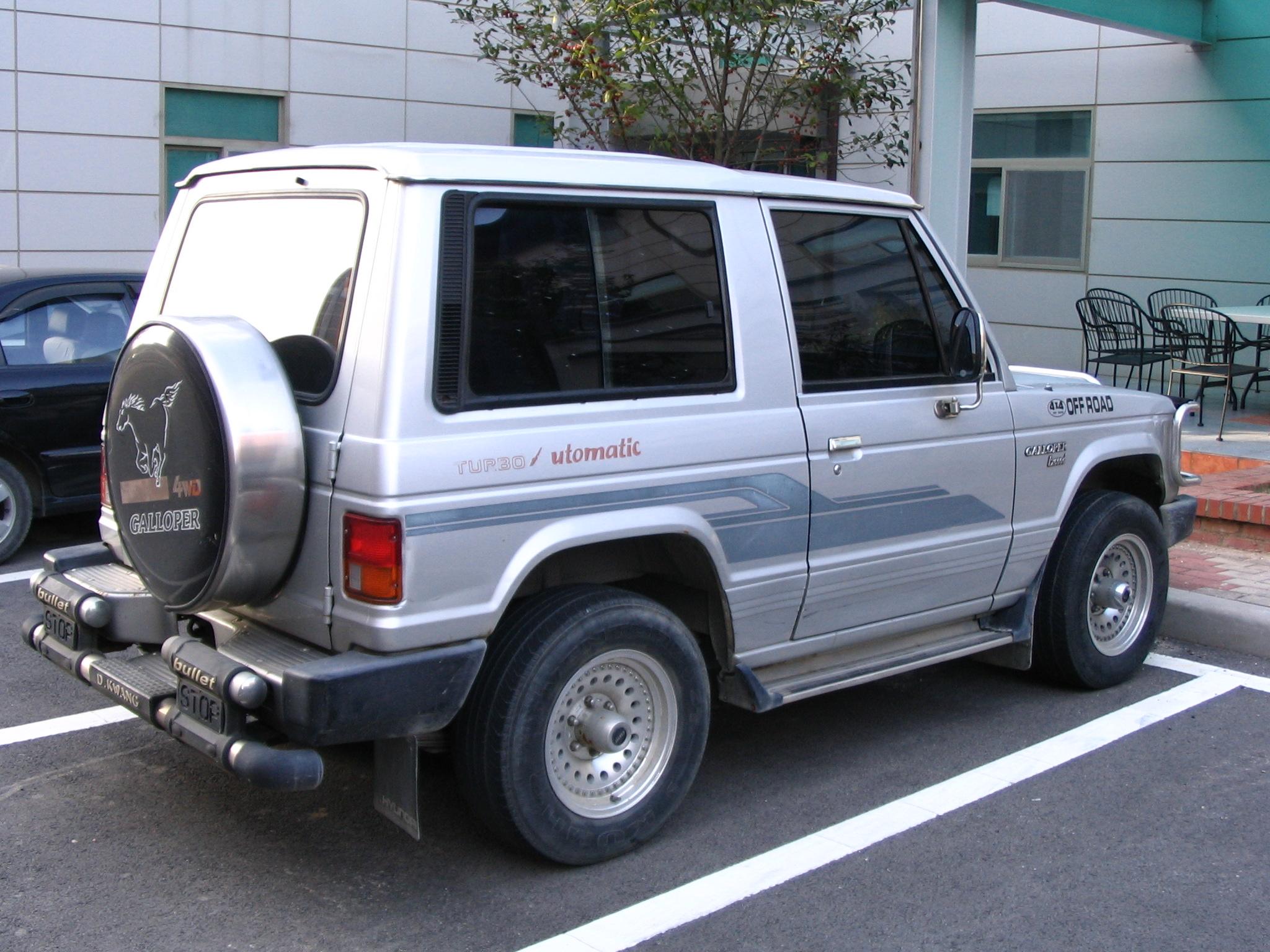 Hyundai Galloper 1991 - 2003 SUV 3 door #6