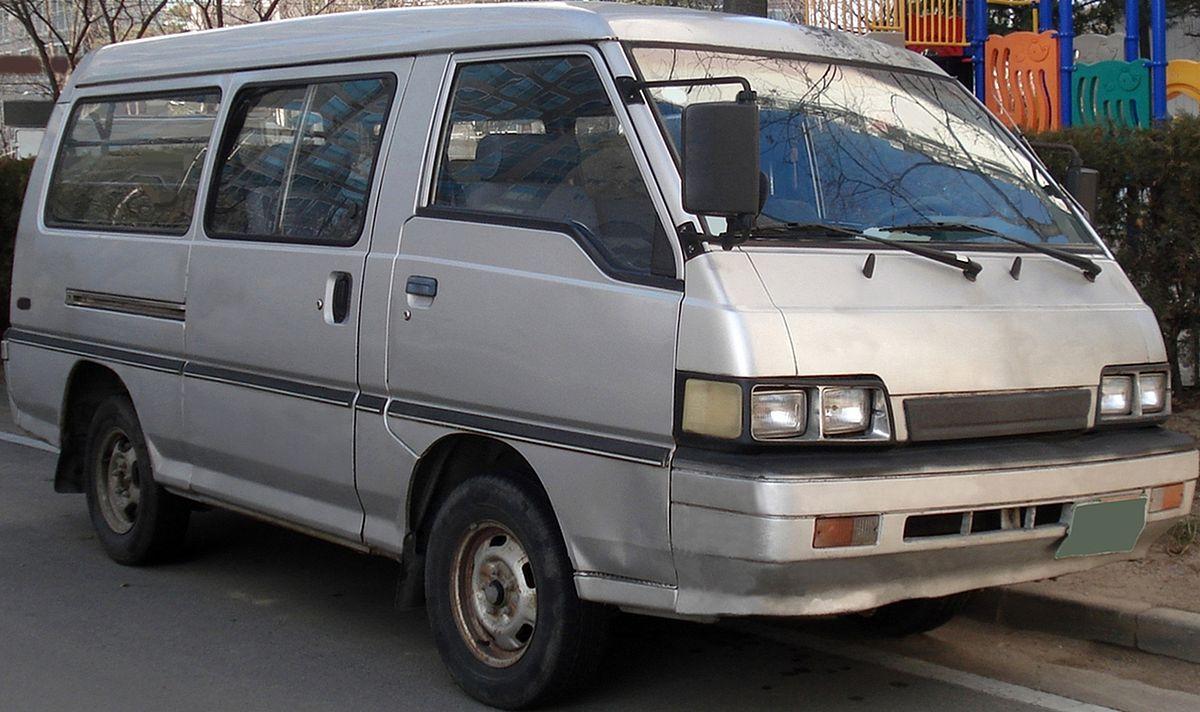 Hyundai Grace 1986 - 2004 Minivan #8