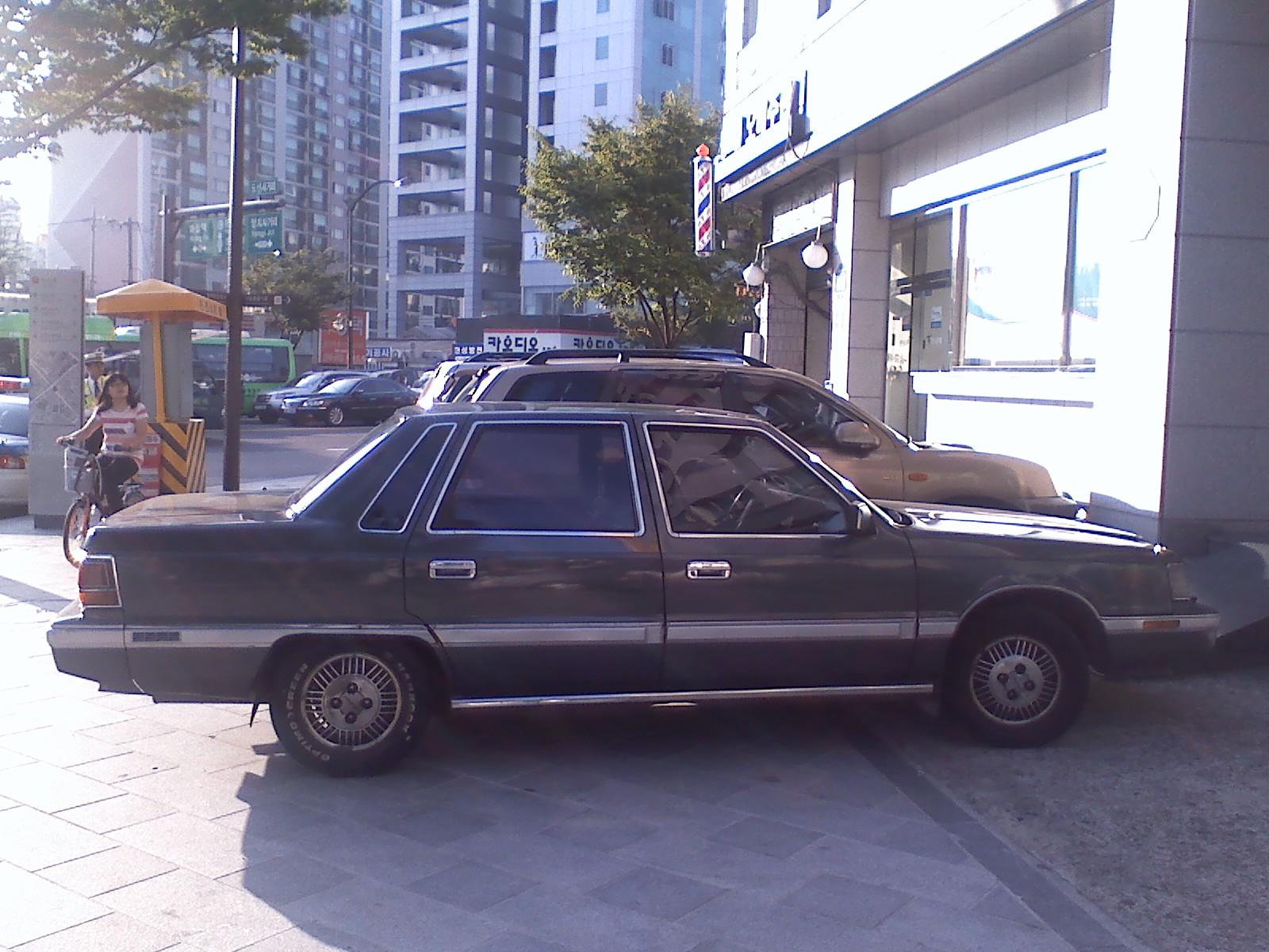 Hyundai Grandeur I 1986 - 1992 Sedan #5