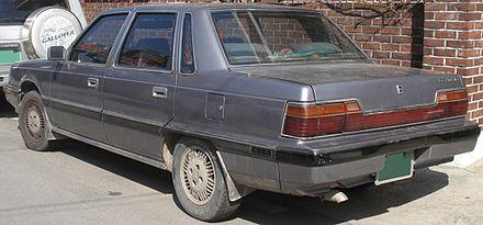 Hyundai Grandeur I 1986 - 1992 Sedan #6