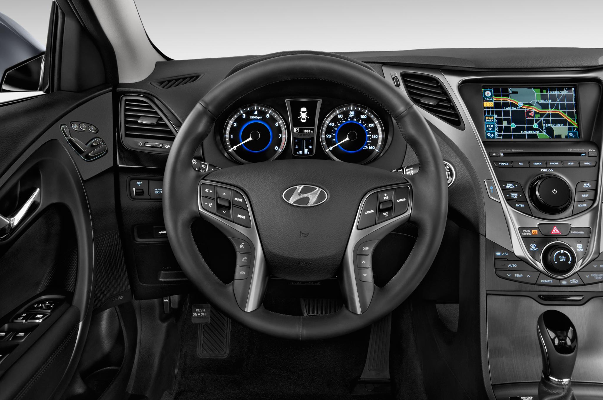 Hyundai Grandeur V 2011 - 2016 Sedan #4