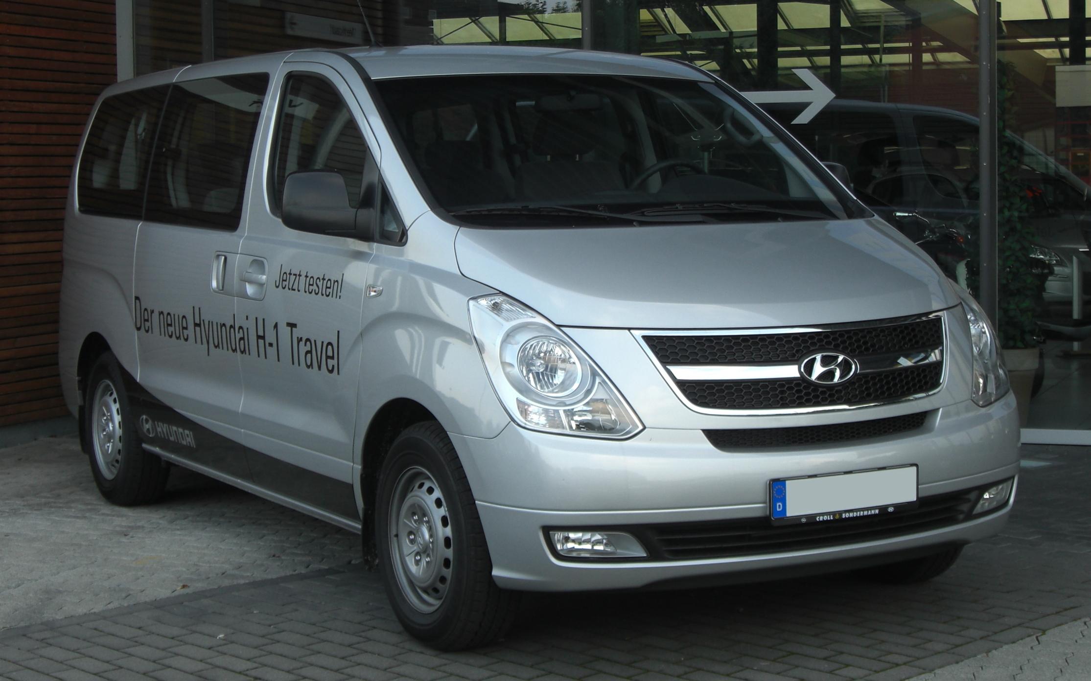 Hyundai H-1 I Restyling 2004 - 2007 Minivan #4