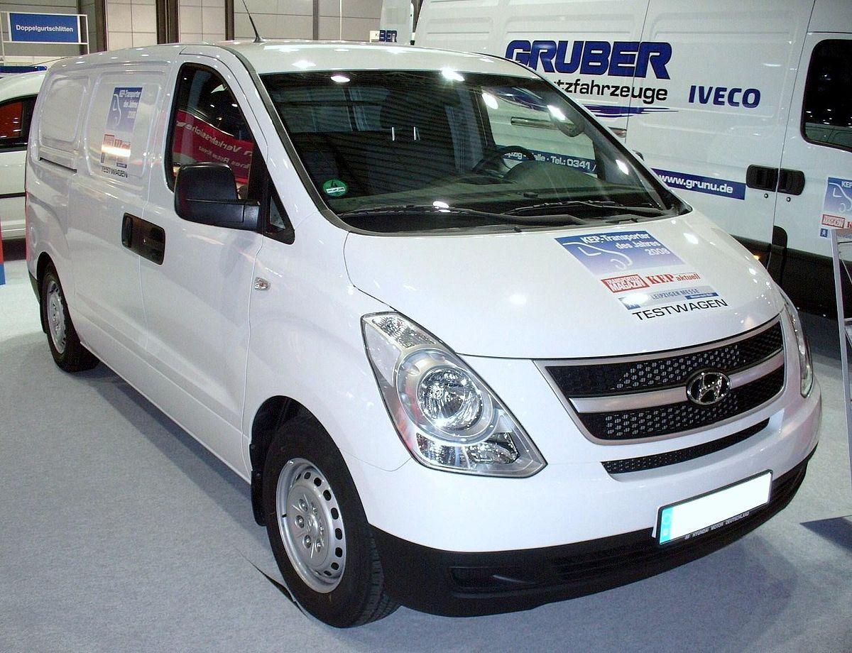 Hyundai H-1 I Restyling 2004 - 2007 Minivan #7
