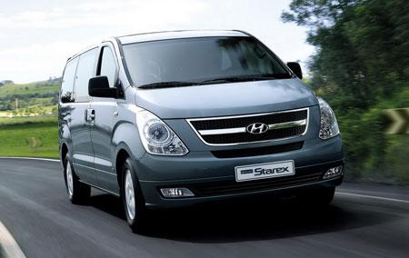 Hyundai H-1 II Restyling 2015 - now Minivan #1
