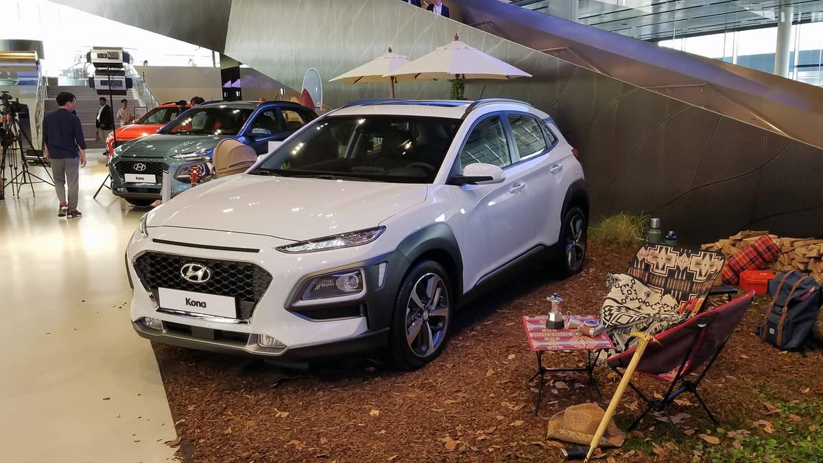 Hyundai Kona 2017 - now SUV 5 door #1