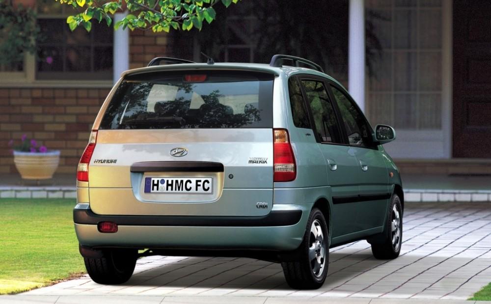 Hyundai Matrix I 2001 - 2005 Compact MPV #2