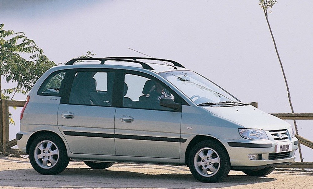 Hyundai Matrix I 2001 - 2005 Compact MPV #3