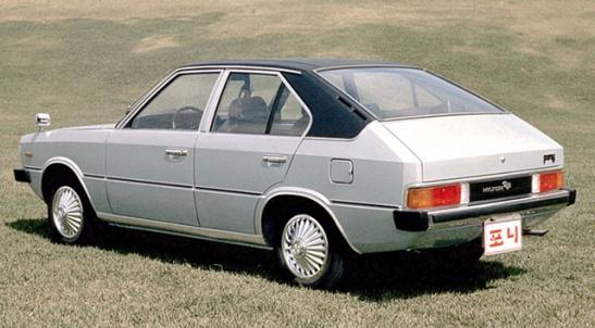 Hyundai Pony I 1975 - 1982 Hatchback 5 door #4