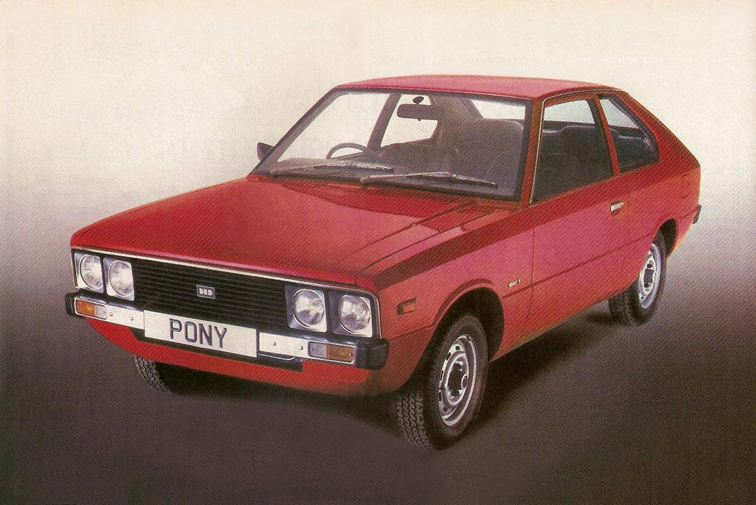 Hyundai Pony I 1975 - 1982 Hatchback 5 door #1