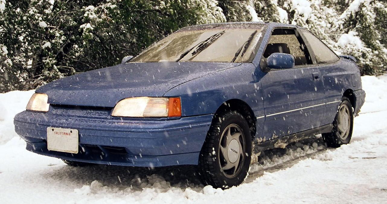 Hyundai Scoupe 1988 - 1996 Coupe #4