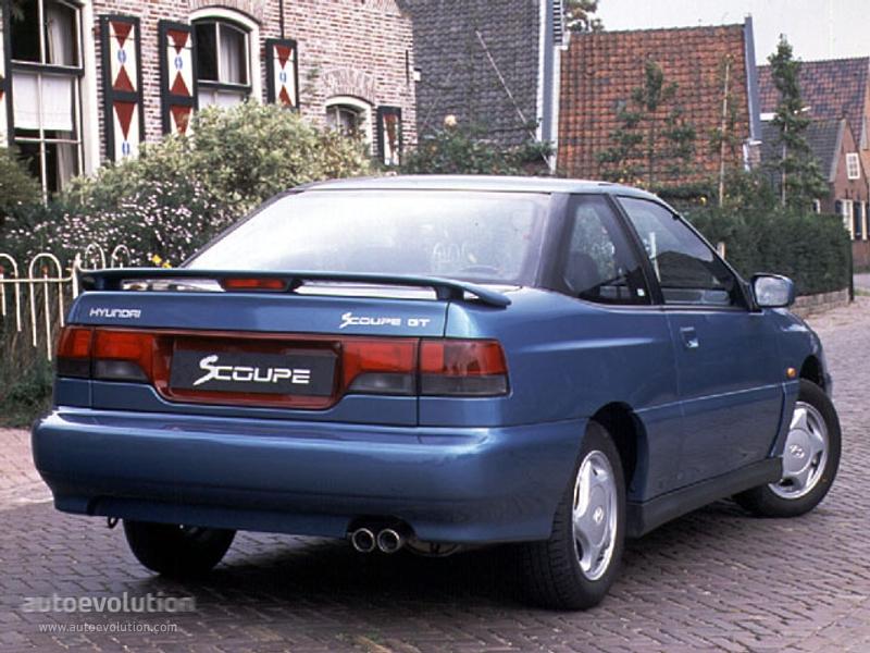 Hyundai Scoupe 1988 - 1996 Coupe #1