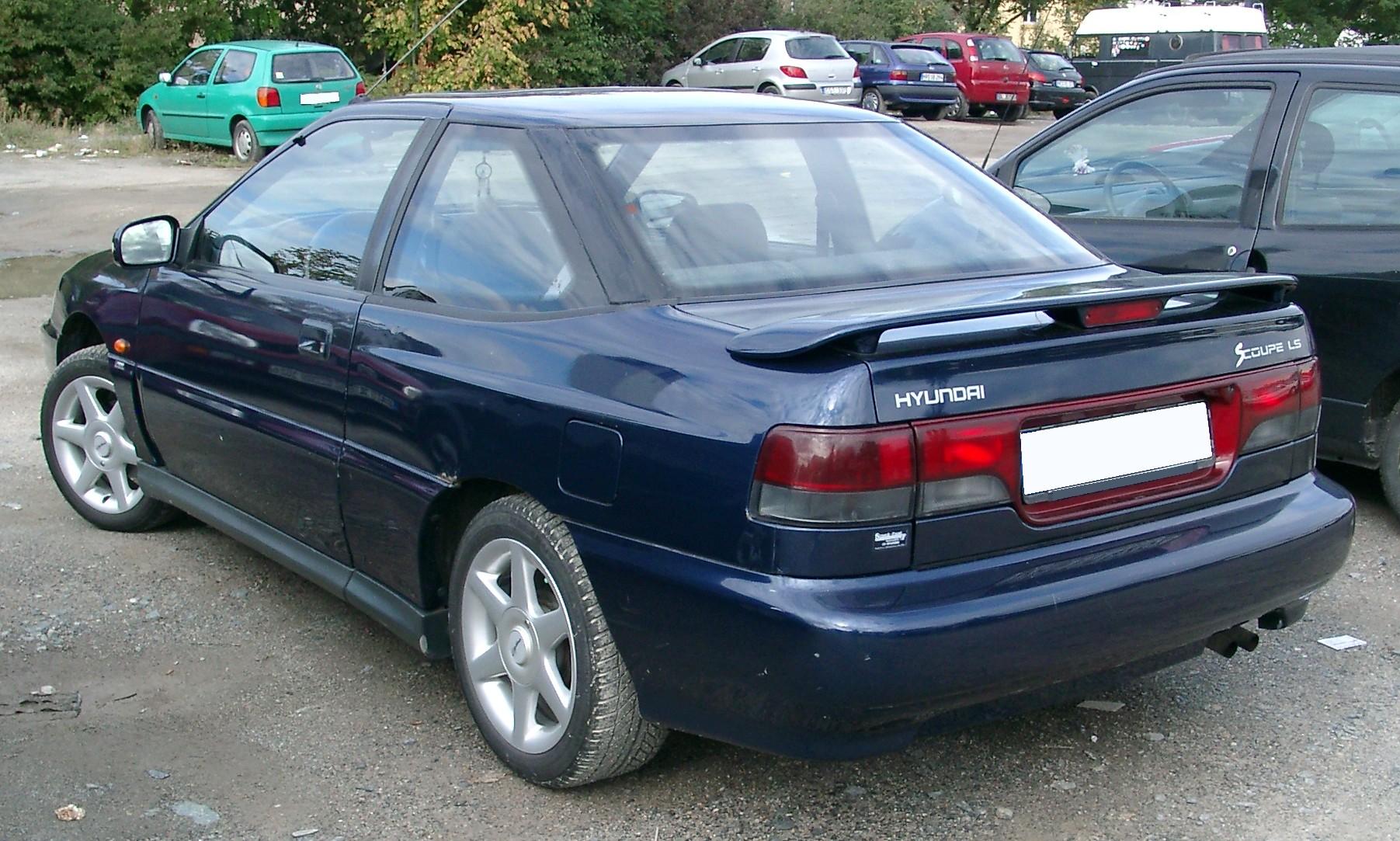 Hyundai Scoupe 1988 - 1996 Coupe #5