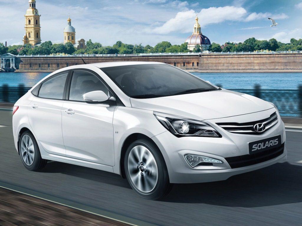 Hyundai Solaris I Restyling 2014 - now Sedan #3