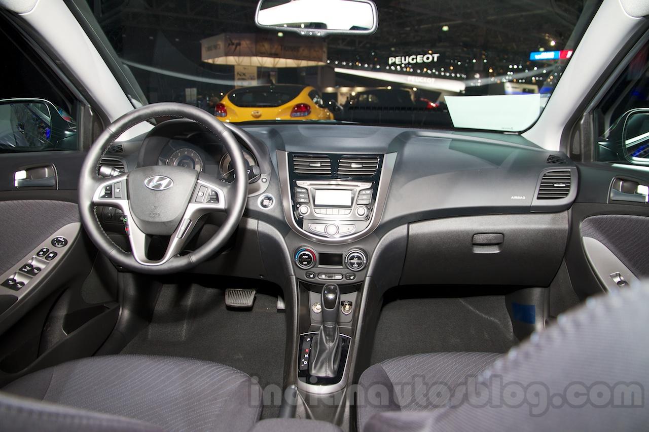 Hyundai Solaris I Restyling 2014 - now Sedan #2