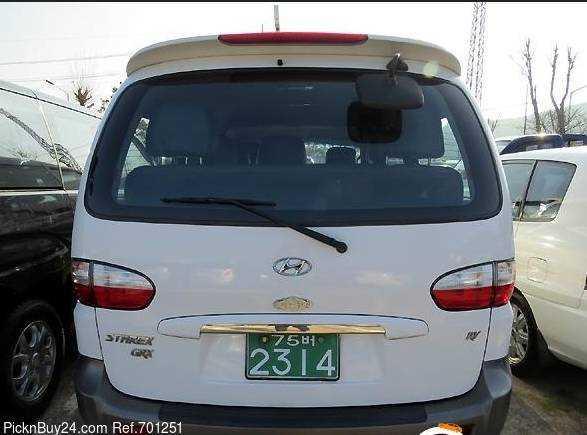 Hyundai Starex I Restyling 2000 - 2004 Minivan #4