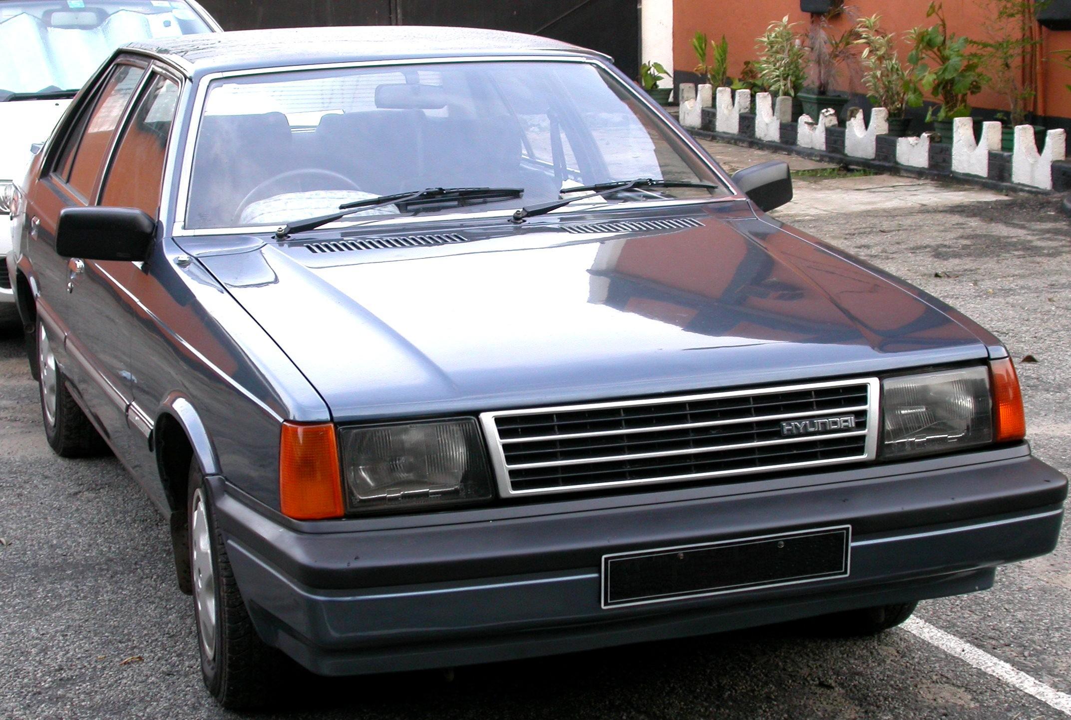 Hyundai Stellar 1983 - 1993 Sedan #6