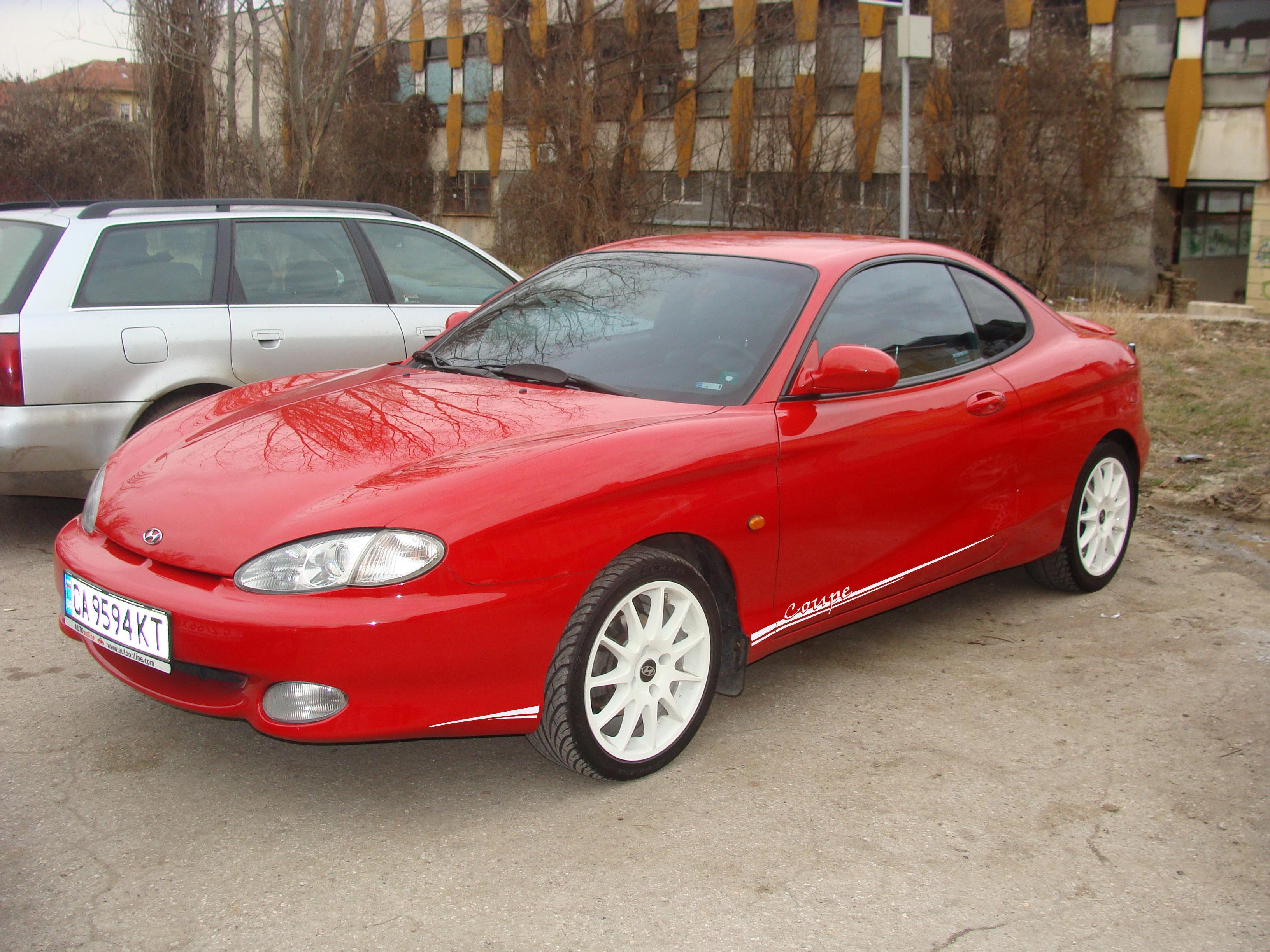 Hyundai Tiburon I (RC) 1996 - 1999 Coupe #1