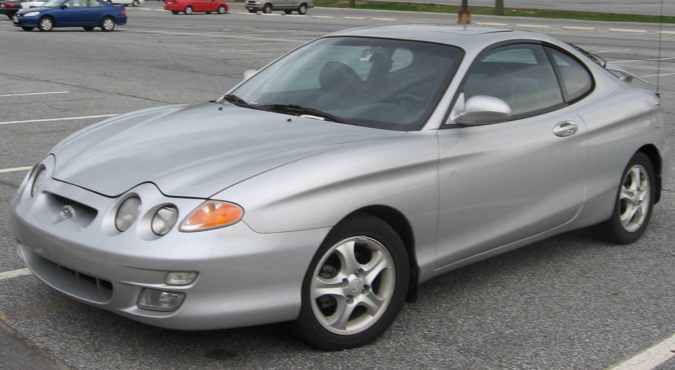 Hyundai Tiburon I (RD) Restyling 1999 - 2001 Coupe #8