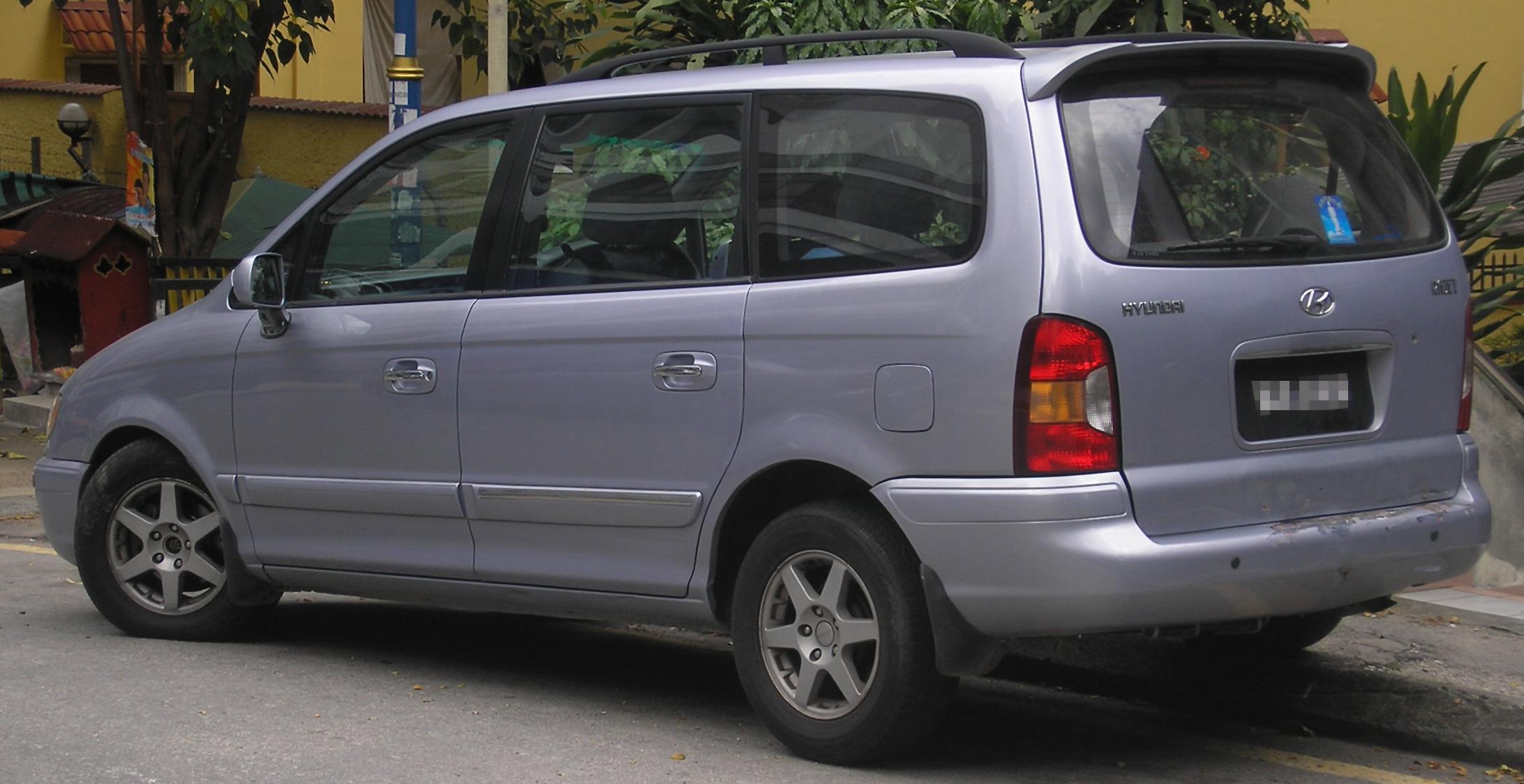Hyundai Trajet I Restyling 2004 - 2008 Compact MPV #5