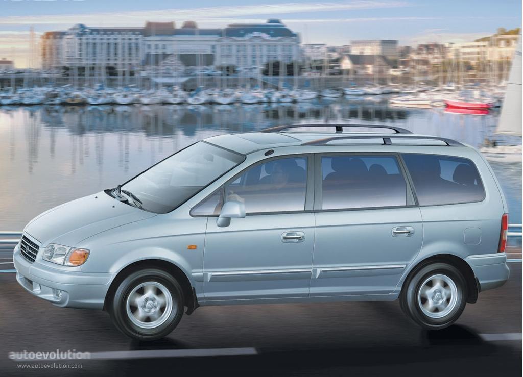 Hyundai Trajet I Restyling 2004 - 2008 Compact MPV #3