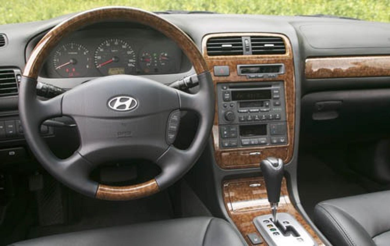 Hyundai XG I Restyling 2003 - 2005 Sedan #1