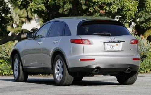 Infiniti FX I 2002 - 2006 SUV 5 door #8
