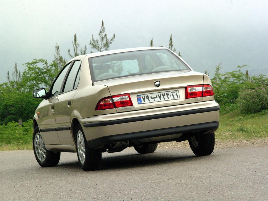 Iran Khodro Samand 2002 - now Sedan #1