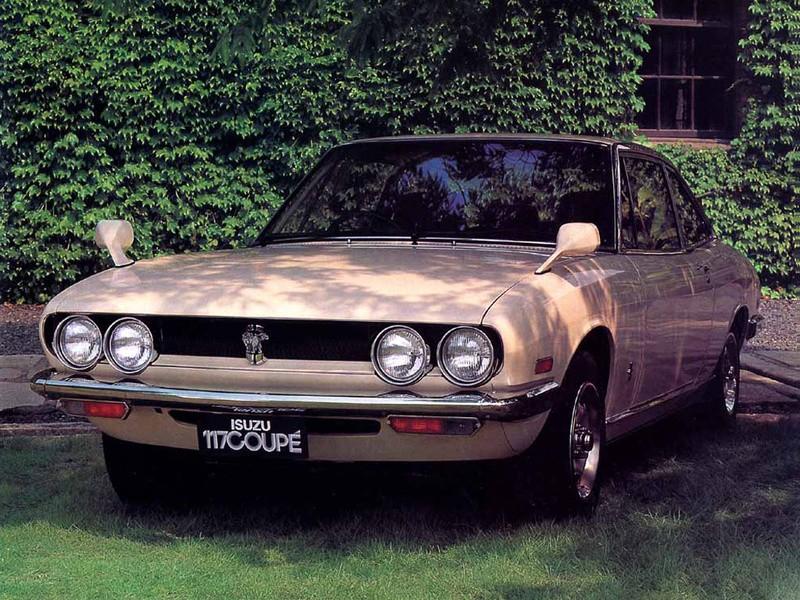 Isuzu 117 1968 - 1977 Coupe #3