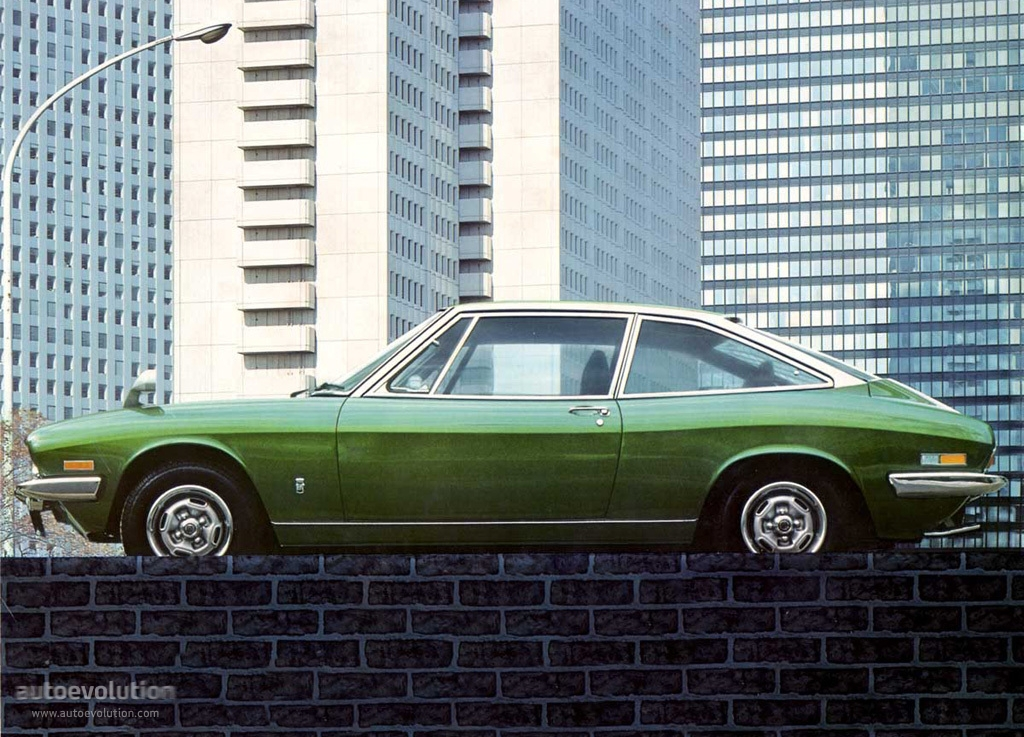 Isuzu 117 1968 - 1977 Coupe #6