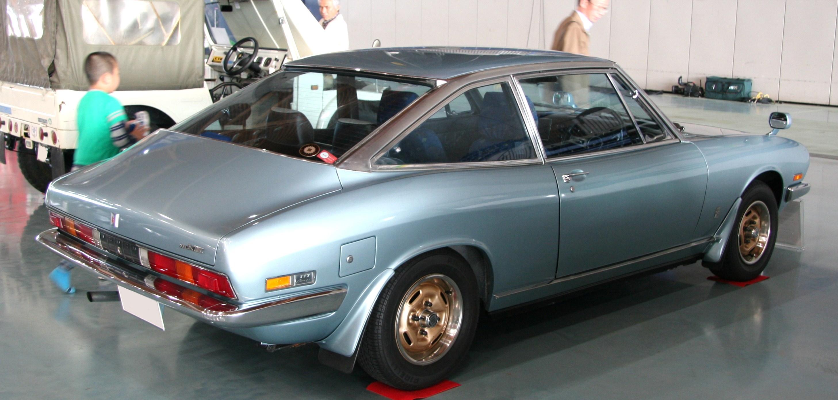 Isuzu 117 1968 - 1977 Coupe #4