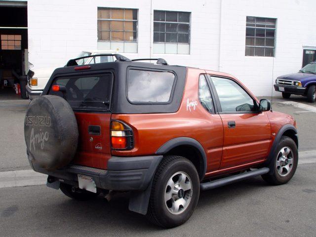 Isuzu Amigo I 1989 - 2000 SUV #7