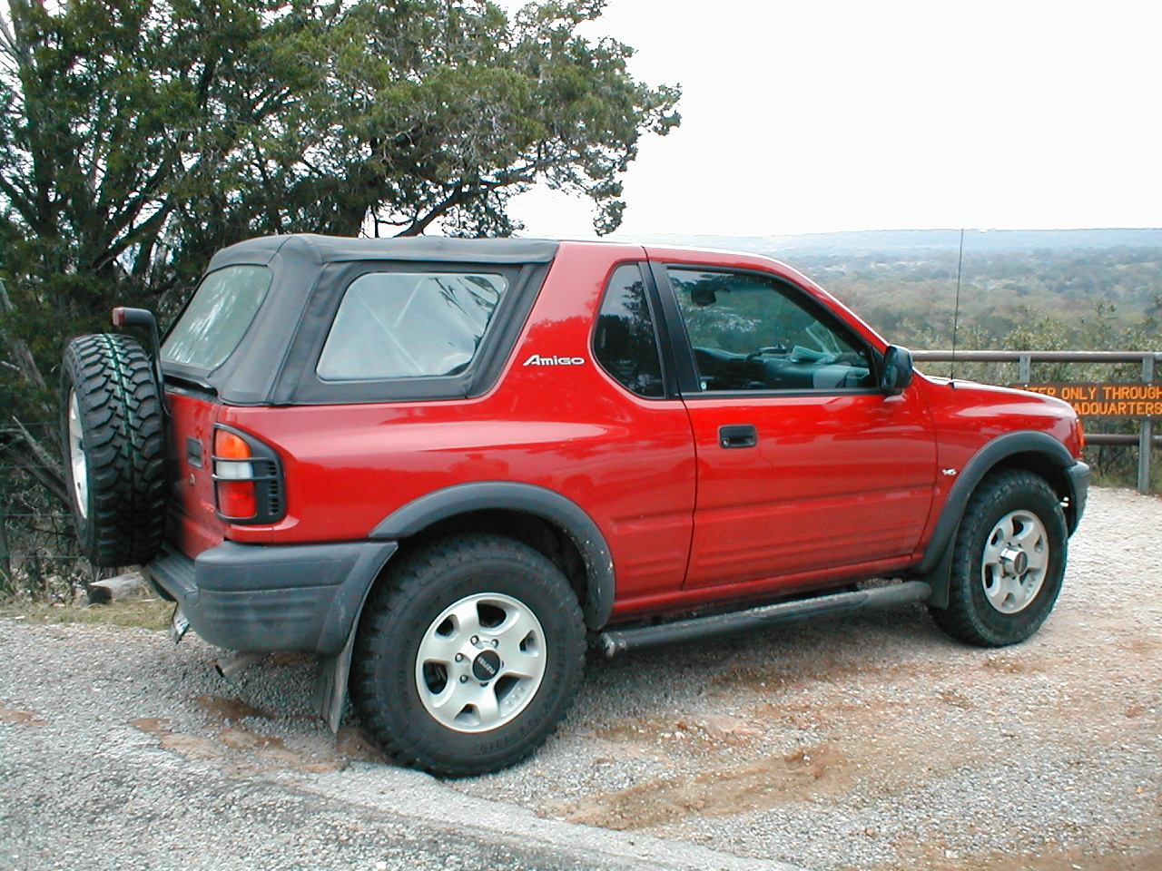 Isuzu Amigo II 1998 - 2000 SUV #6