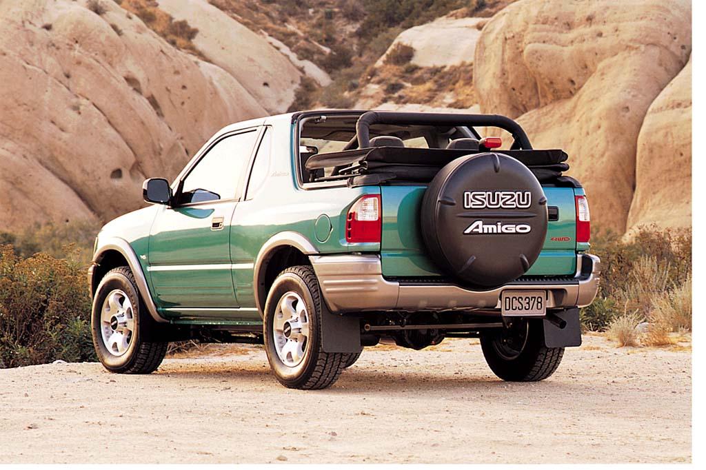 Isuzu Amigo II 1998 - 2000 SUV #4